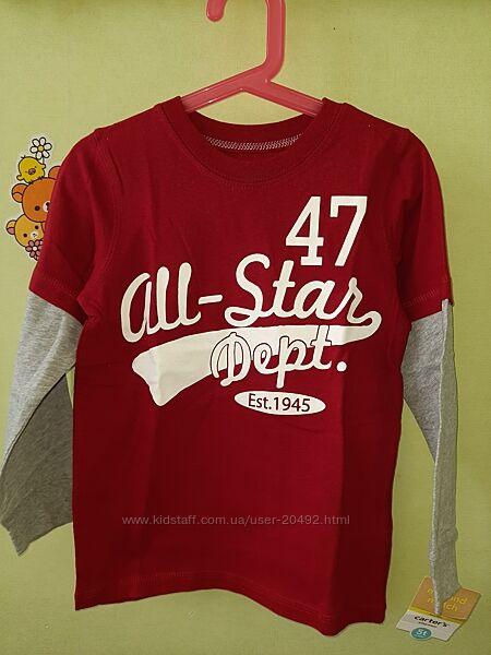 Лонгслив, реглан, футболка с длинным рукавом Primark, Carters, Crazy8