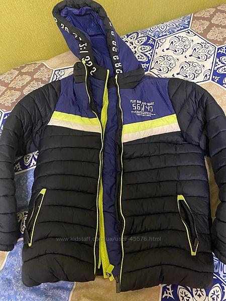 Куртка пуховик 11-12 лет OVS мальчик