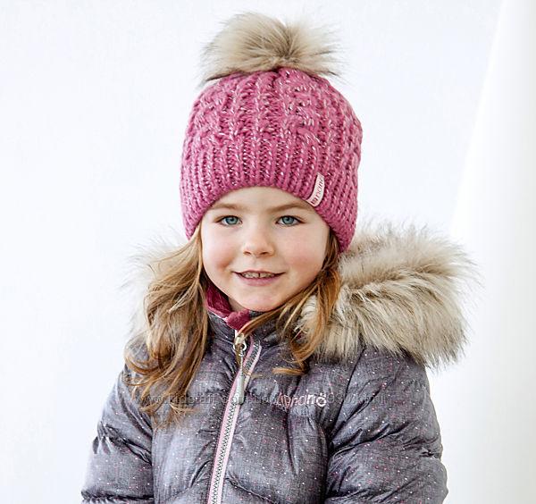 Шапки зимние NANO на флисе для девочек 2-12 лет