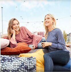 Нежная блуза-туника esmara германия размер евро 36 наш 42