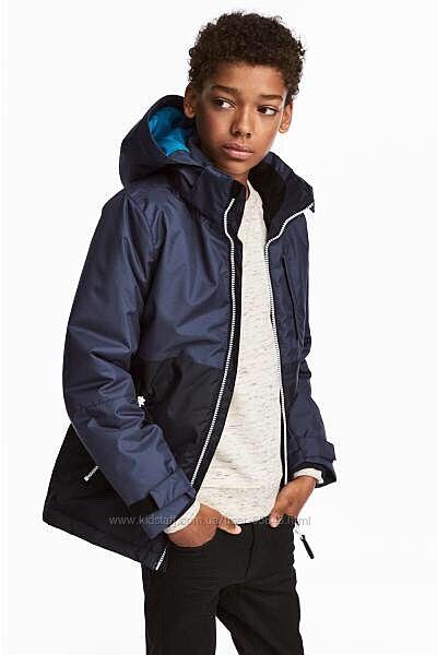Утепленная куртка h&m 12-13 лет