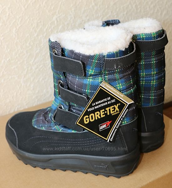 Ботинки сапожки Puma 31р зима новые GoreTex