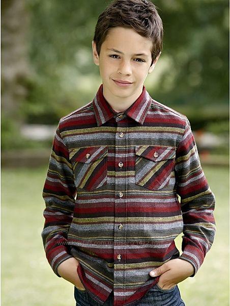 Сорочка  хлопчача Mandco на 6-7 років