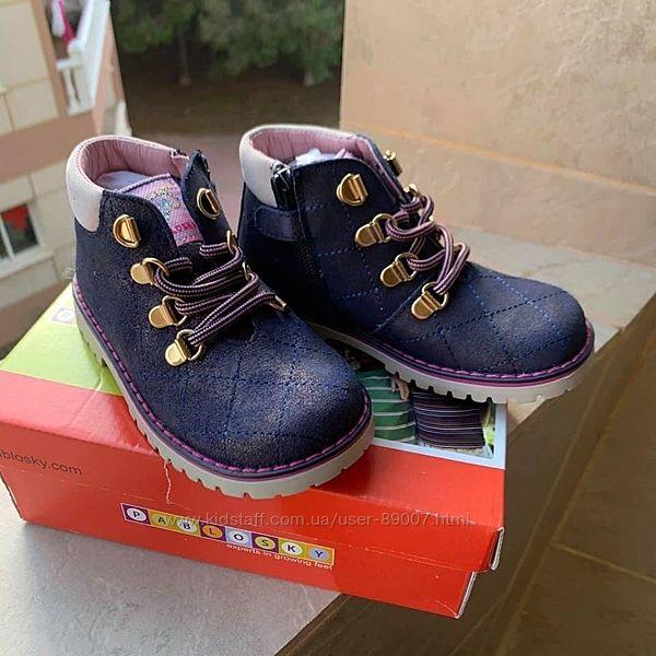 Демисезонные ботинки Pablosky, размер 25