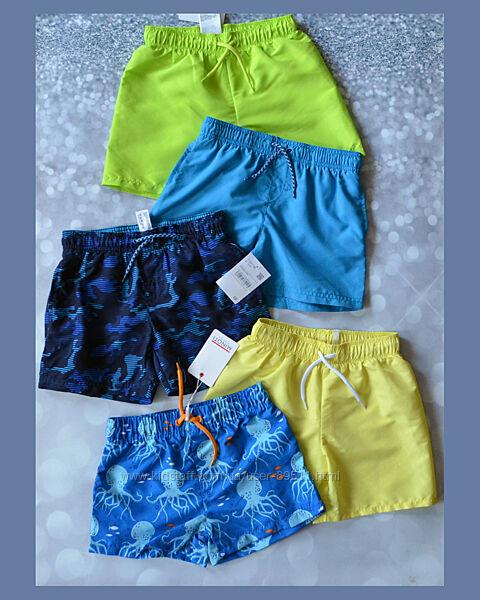 Фирменные пляжные шорты плавки для мальчика H&M, C&A, MINOTI