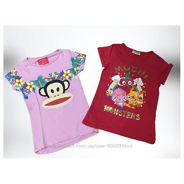 Фирменные футболки puma, Next, h&m, Disney, Adidas