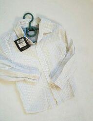 Новая Рубашка M&S на 1.5- 2 года