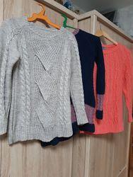 Набор 3 шт  пуловеров полушерсть