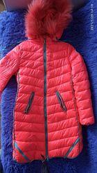 Зимнее теплое пальто