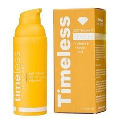 Сыворотка с витамином С20, Е и феруловой кислотой Timeless Vitamin C