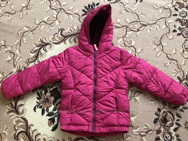 Зимние куртки пуховик Old navy frost free jacket, оригинал на флисе