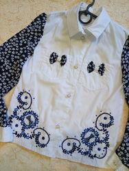 Нарядная блузка, 128-146р.