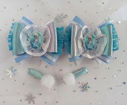 Новогодние бантики, украшения, набор