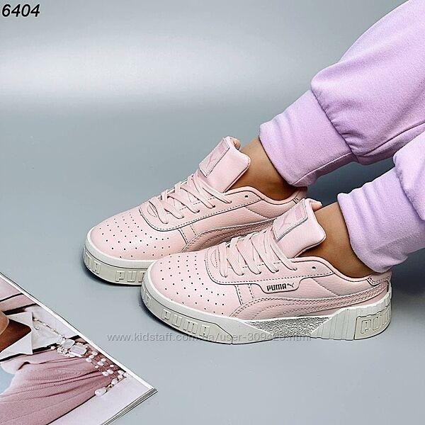 Женские кожаные кроссовки 36-41 размер