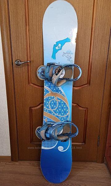 Сноуборд Burton Lux 150 cm  крепления Stiletto Burton L-ка