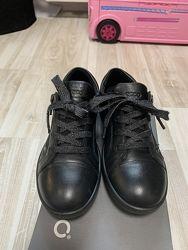 Закрытые кожаные туфли Ecco унисекс, 31 размер