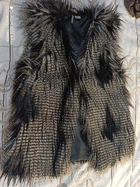 Жилет женский меховый H&M