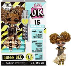 L. O. L. Surprise JK Queen Bee Mini Fashion Doll15 Surprises Квін Бі оригинал