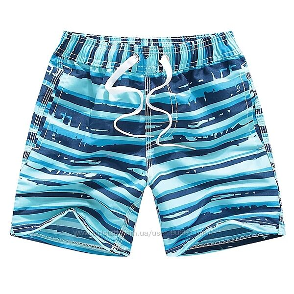 Купальные шорты на мальчиков 5-14 лет