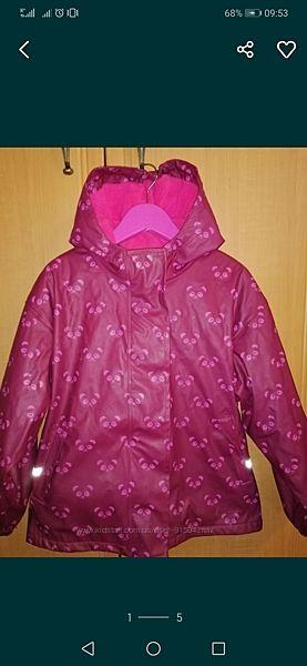 Прорезиненая деми куртка/дождевик Impidimpi
