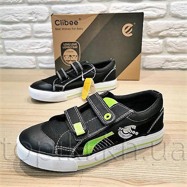Кеды Clibee B290bg черные размеры 31-36