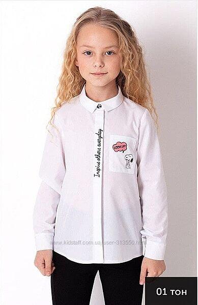 Блуза Mevis 3687-01 размеры 116-140