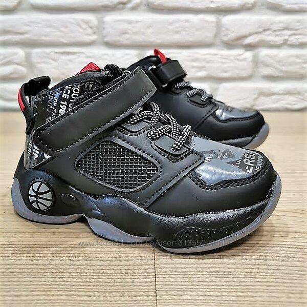 Деми ботинки Сlibee L204bg черный размеры 26-37