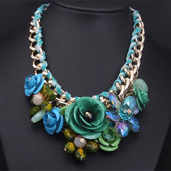 Красивейшее ожерелье разные цвета