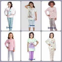 Новые летние и деми комплекты,  пижамки Baykar в наличии и под заказ