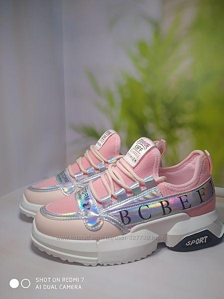 Подростковые кроссовки для девочек 7760 р.37-41