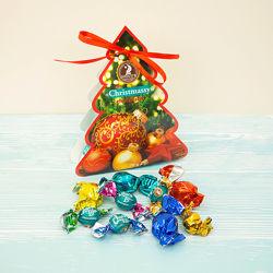 Новогодние шоколадные наборы конфет. КФ Сладкий мир.