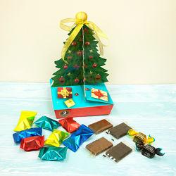 Шоколадные новогодние наборы конфет. КФ Сладкий мир.
