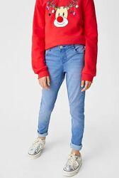 Брюки джинсы на девочку C&A