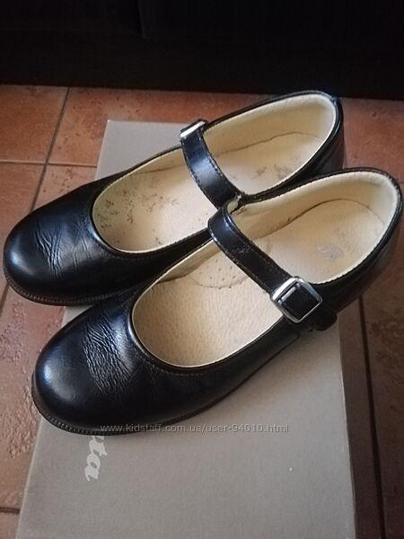 Кожаные туфли Bata