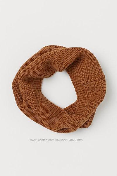 H&M Классный хлопковый шарф-труба