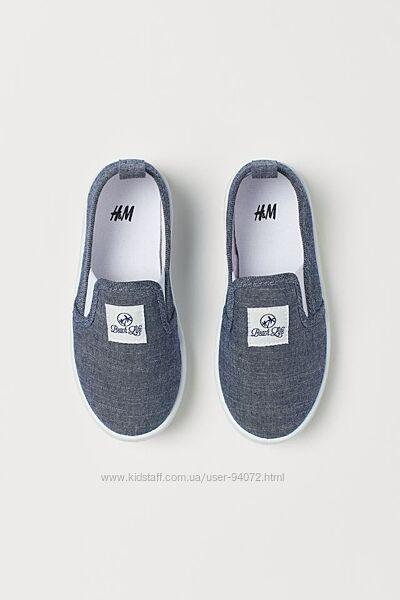 H&M Стильные слипоны размер 28