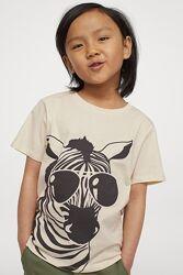 H&M Стильная футболочка для 6-8 лет