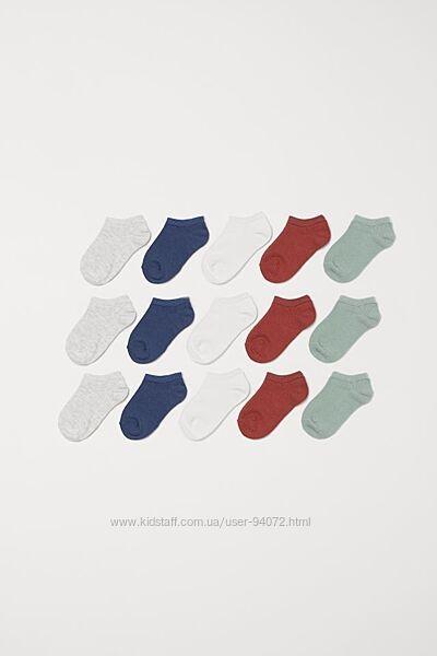 H&M Носочки отличного качества размеры 19-27 в наличии