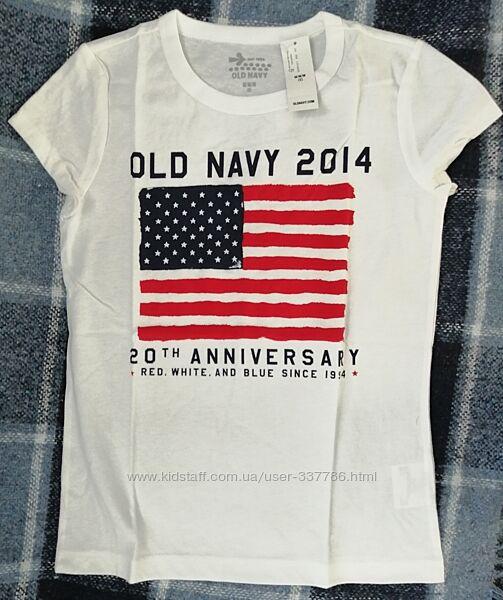 Новая футболка олдневи размер 8