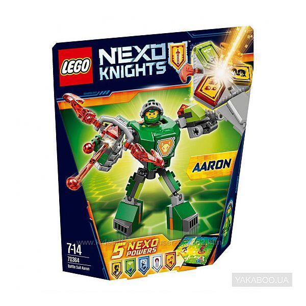 Конструктор LEGO Боевые доспехи Аарона, Nexo Knights