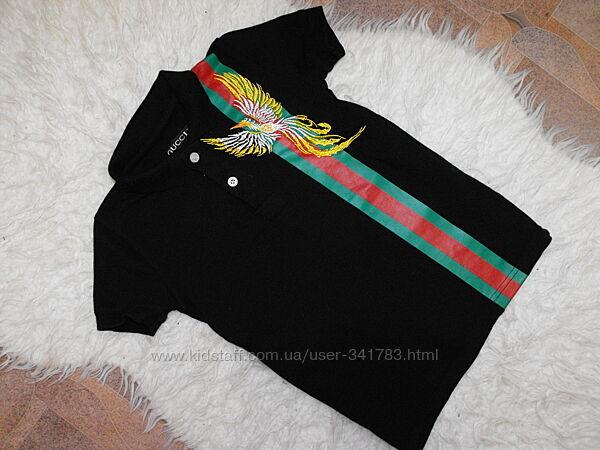 Фирменная Gussi унисекс футболка супер качество