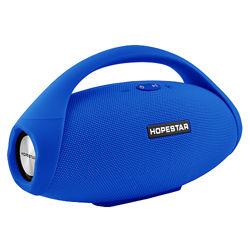 Bluetooth-колонка HOPESTAR-H31 BIG, PowerBank, радио, blue