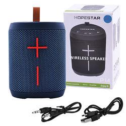 Bluetooth-колонка HOPESTAR-P14 speakerphone радио PowerBank blue
