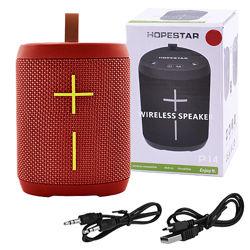 Bluetooth-колонка HOPESTAR-P14 StrongPower speakerphone радио PowerBank red