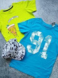 Футболки мальчику Primark, George, H&M и др Англия, большой выбор.