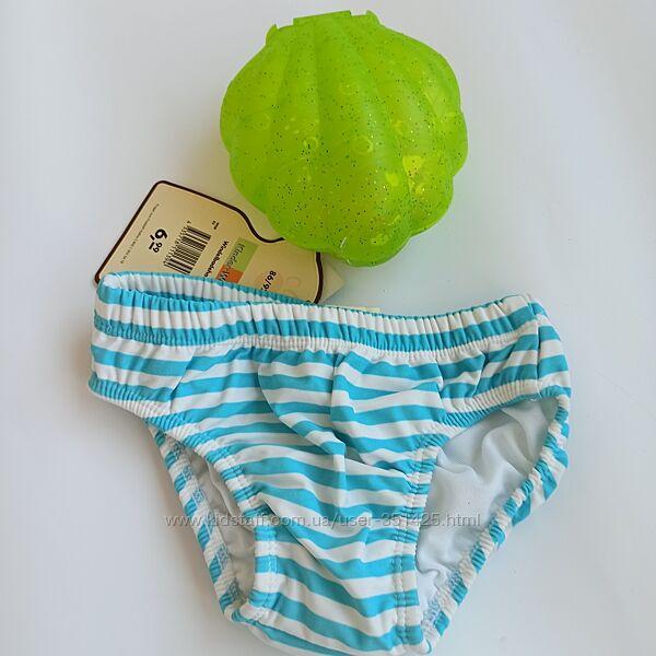 Плавки непромокайки для купания для девочки 12 - 18 мес, 1,5-2 года, 86-92