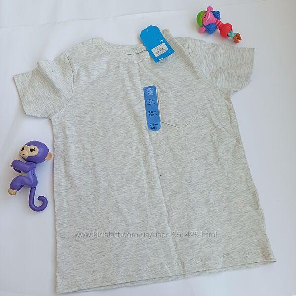 серая футболка для мальчика primark 122-128 см, 7-8 лет