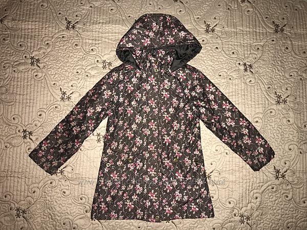 Плащ демисезонное пальто 6-7 лет