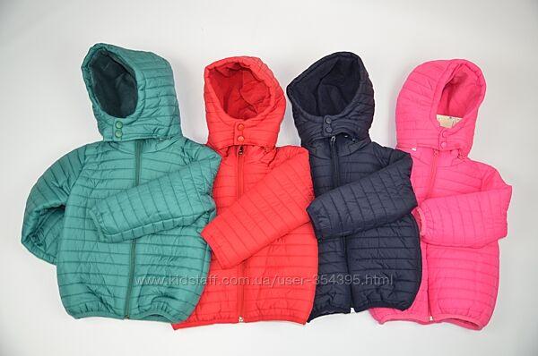 Курточка демісизонна 4 кольори 80-110 розмір