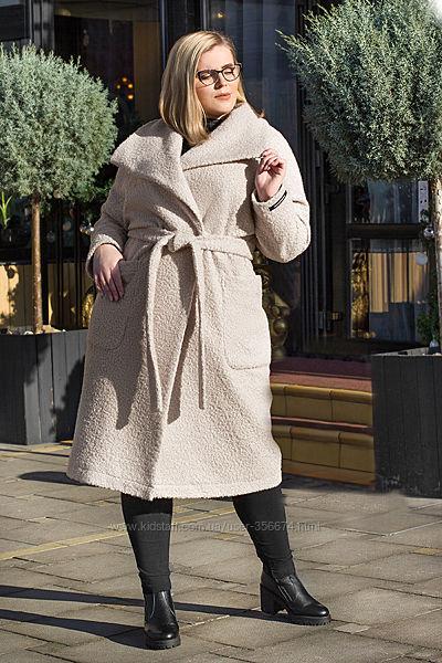 Демисезонное кашемировое пальто, размеры 50-56